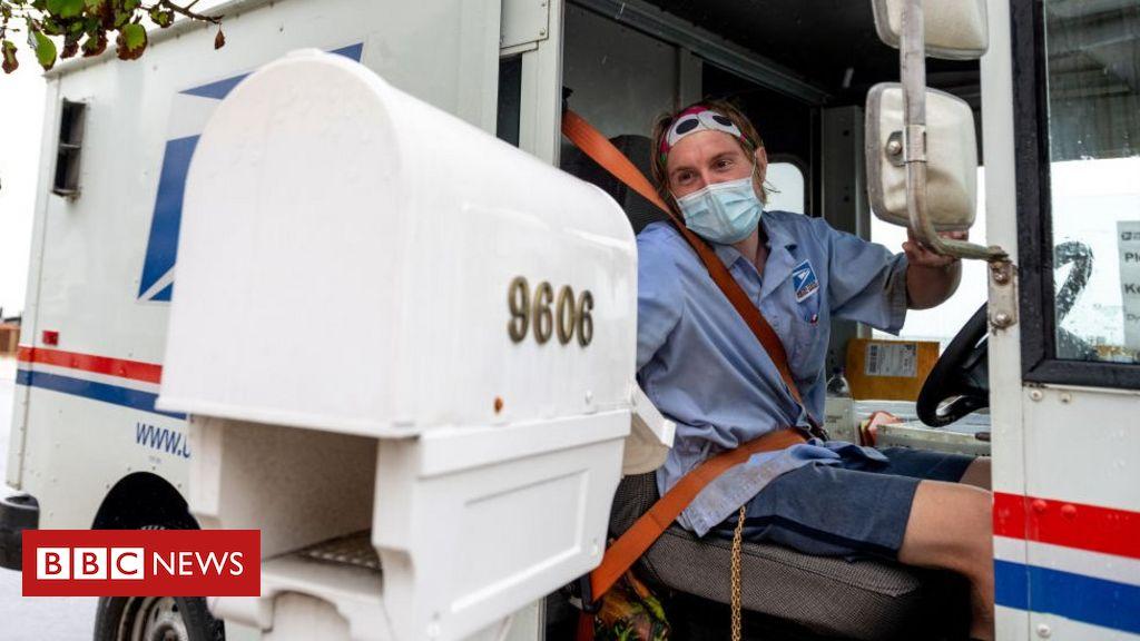 US 2020: Der Postdienst warnt vor Verzögerungen bei der Anzahl der Mail-In-Stimmen