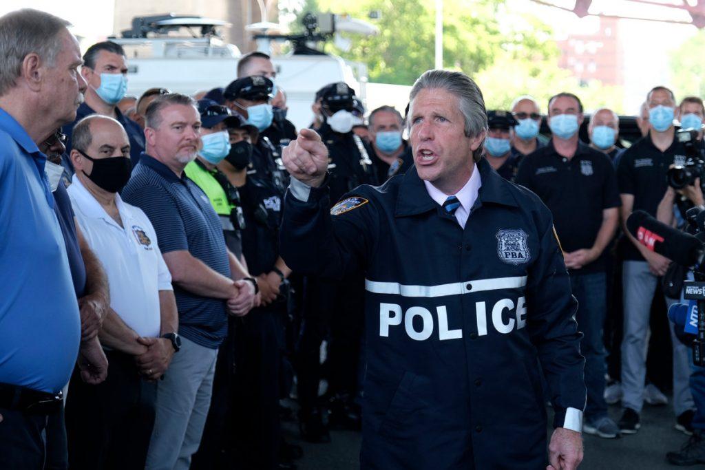 "NYPD Gewerkschaft unterstützt Trump, Spitznamen Joe Biden ""Sleepy Joe"""