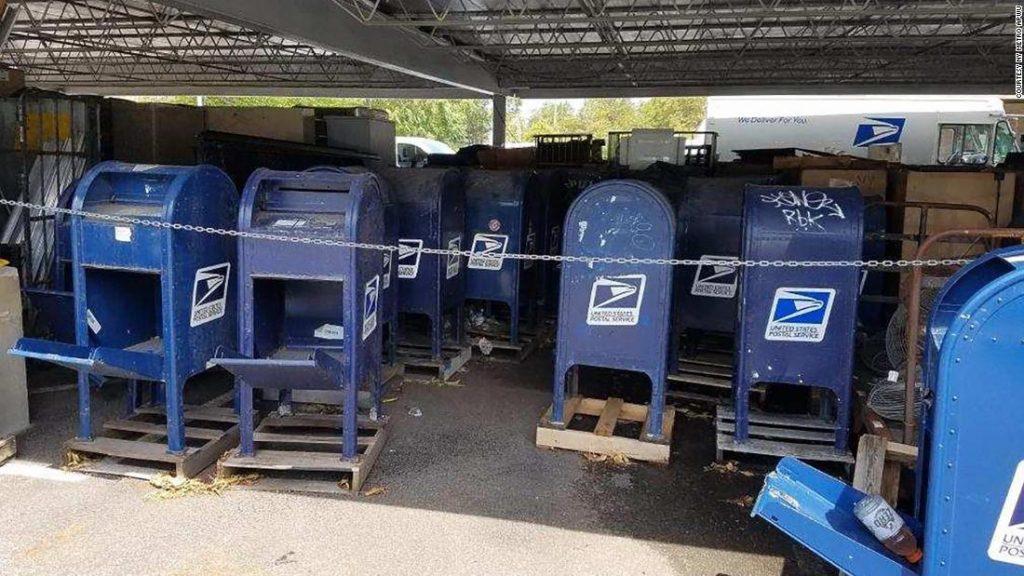 USPS wird das Entfernen von Briefkassetten in westlichen Bundesstaaten bis nach der Wahl einstellen, sagt der Sprecher