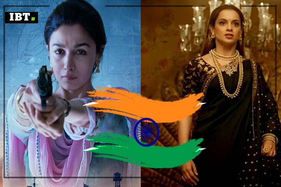 74. Unabhängigkeitstag: Alia Bhatts Raazi zu Kanganas Manikarnika;  7 Filme, die sich auf Frauen konzentrieren, werden Ihr Herz mit Patriotismus füllen