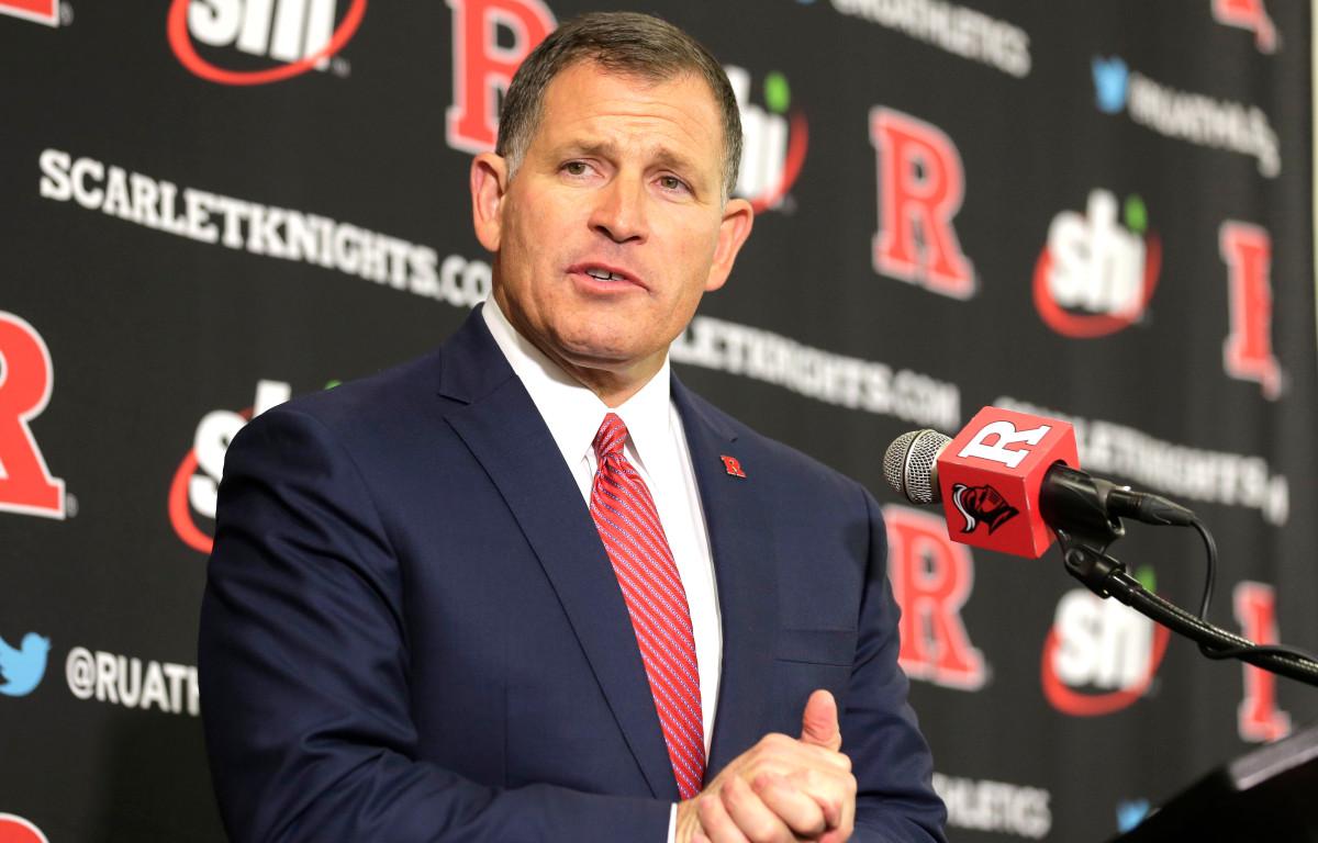 Greg Schiano versucht, die Coronavirus-Pause zu Rutgers Vorteil zu nutzen