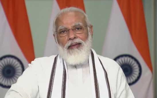 Laut PM Modi startet Indien die Massenproduktion von COVID-Impfstoffen und startet eine Gesundheitsmission