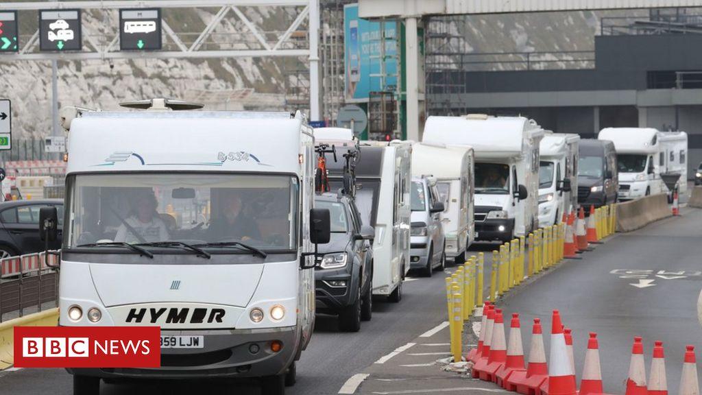 Coronavirus: Tausende kehren nach Großbritannien zurück, um die Quarantäne in Frankreich zu besiegen