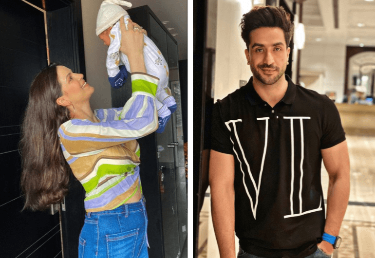 PIC: Natasa Stankovic shares picture with baby, this is how ex-Aly Goni reacts