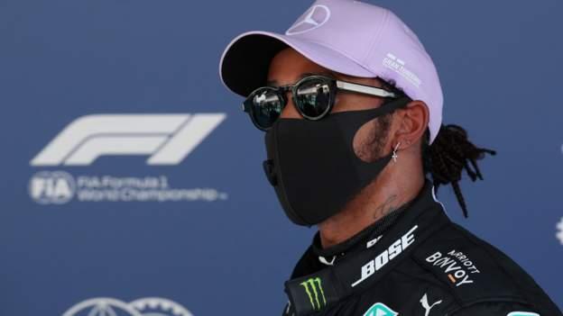 Lewis Hamilton auf der Pole Position für den Großen Preis von Spanien