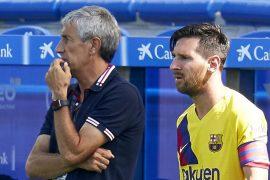 FC Barcelona: Quique Setién fällt dem Debüt gegen die Bayern zum Opfer.  Und Messi?