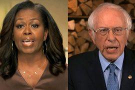 """Demokratische Parteikonferenz: Bernie Sanders bindet Trump - """"Das ist nicht normal"""""""