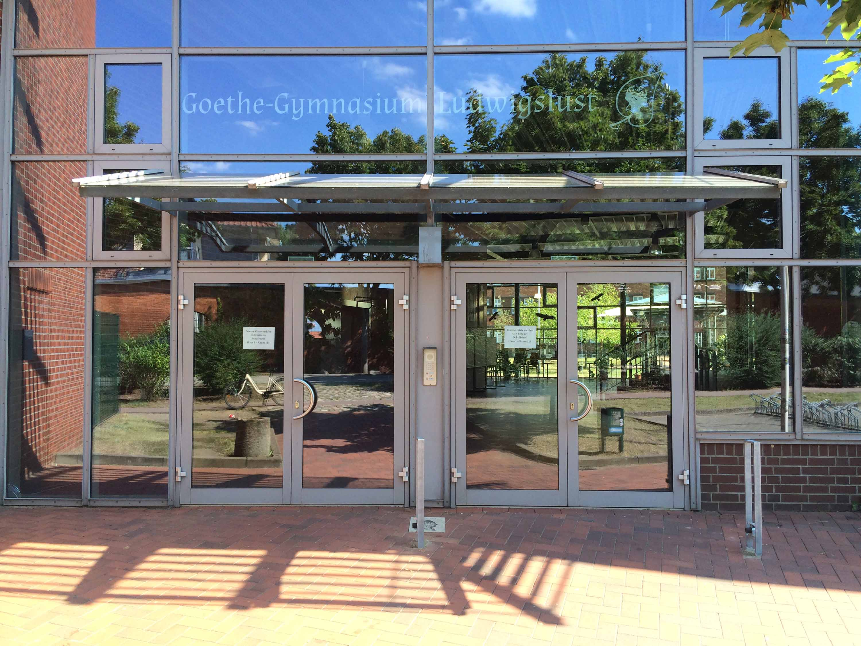 Das Goethe-Gymnasium in Ludwigslust-Parchim ist am 7. August abgebildet.