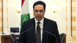 Der libanesische Premierminister Hassan Diab