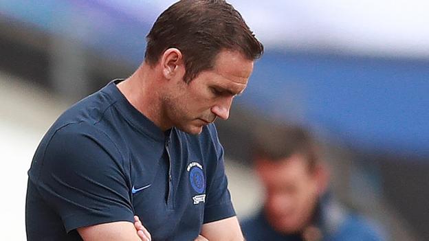 "FA Cup Finale 2020: Chelsea-Manager Frank Lampard sagt: ""Wir sind selbstgefällig geworden"""