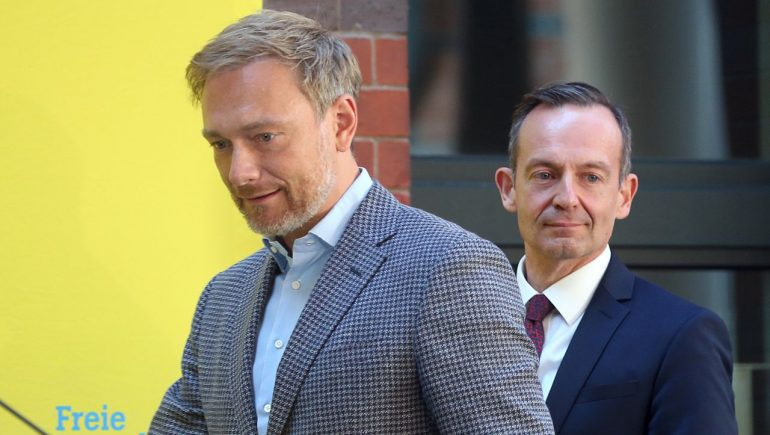 FDP: Christian Lindner verlässt sich jetzt auf Volker Wissing