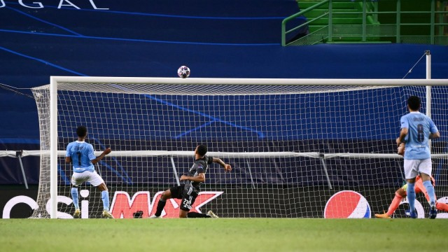 Champions League Viertelfinale - Manchester City - Olympique Lyonnais
