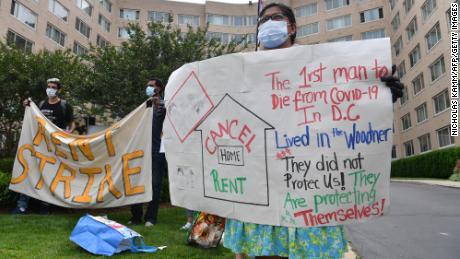 40 Millionen Amerikaner sind ohne Stimulus-Rechnung von Räumung bedroht