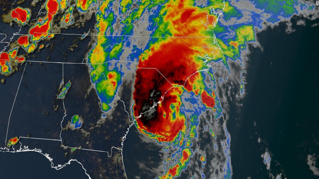 Isaias landet als Hurrikan in den Carolinas und wird voraussichtlich weiter die Ostküste hinaufziehen