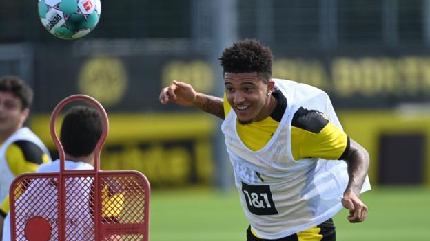 """Jadon Sancho, der bei Borussia Dortmund bleiben soll, sagt Sportdirektor: """"Entscheidung ist endgültig."""""""