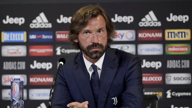 Juventus ernennt Andrea Pirlo als Nachfolger von Maurizio Sarri