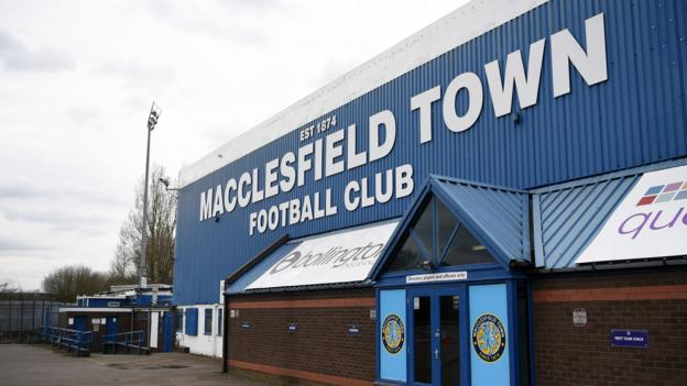 Macclesfield Town stieg ab, nachdem EFL Punkte gewonnen hatte, Stevenage war wiederbelebt