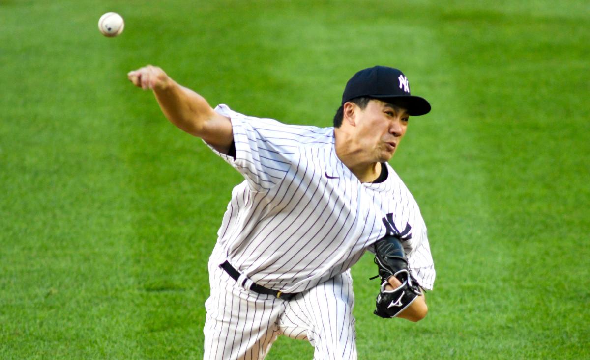 Mashiro Tanaka gibt der Yankees-Rotation seinen ersten Schub