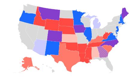 Drei Diagramme, die zeigen, wie Republikaner ihre Chance verlieren, den Senat zu behalten