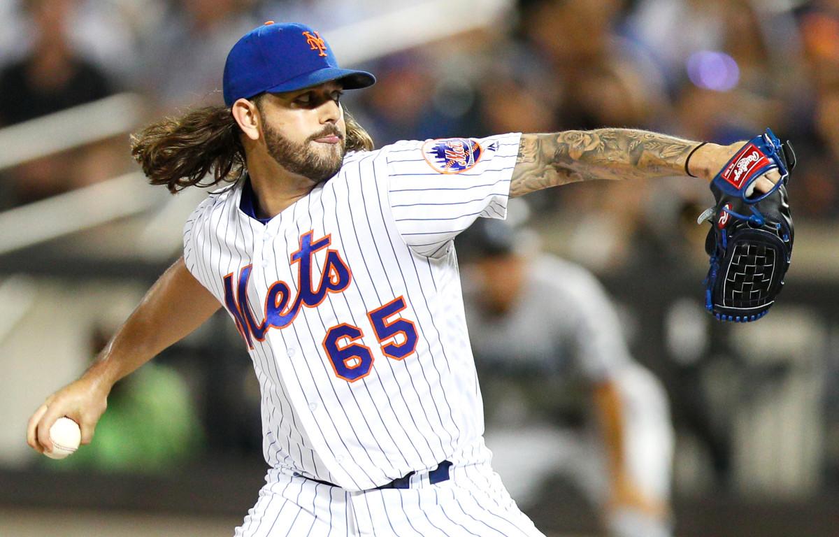 Mets 'Robert Gsellman kommt beim ersten Saisonauftritt groß raus