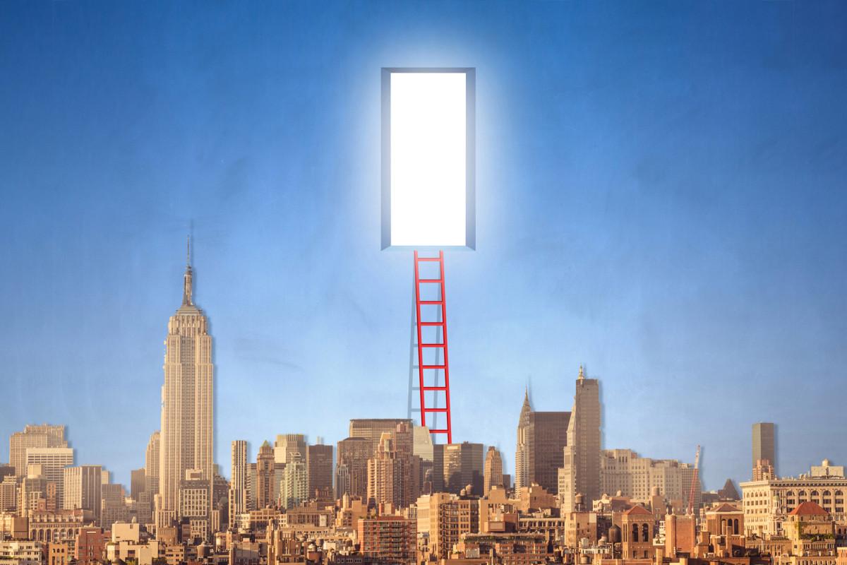 """New Yorker fliehen """"in Scharen"""" aus NYC"""