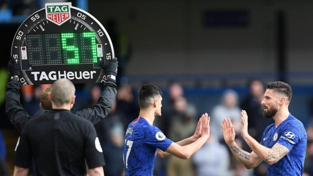 Premier League-Vereine stimmen gegen die Verwendung von fünf Ersatzspielern für 2020-21