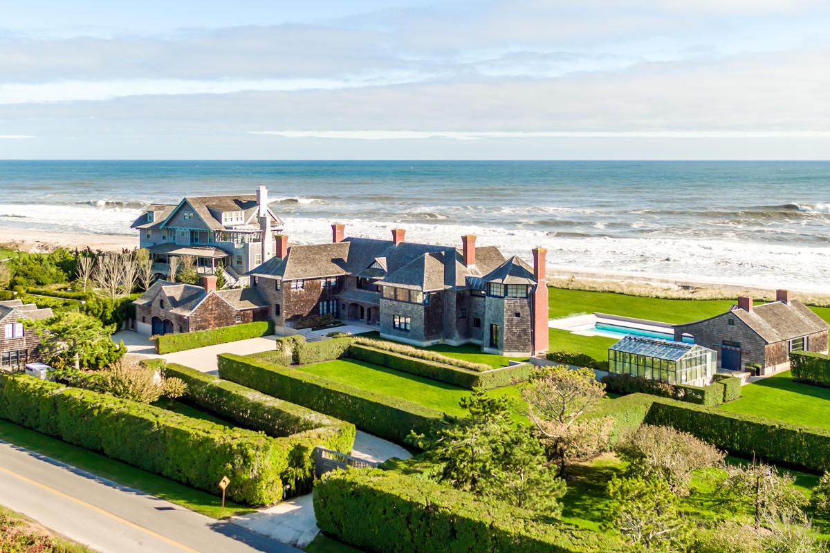 Reiche New Yorker kaufen mehrere Hamptons-Quarantänevillen auf