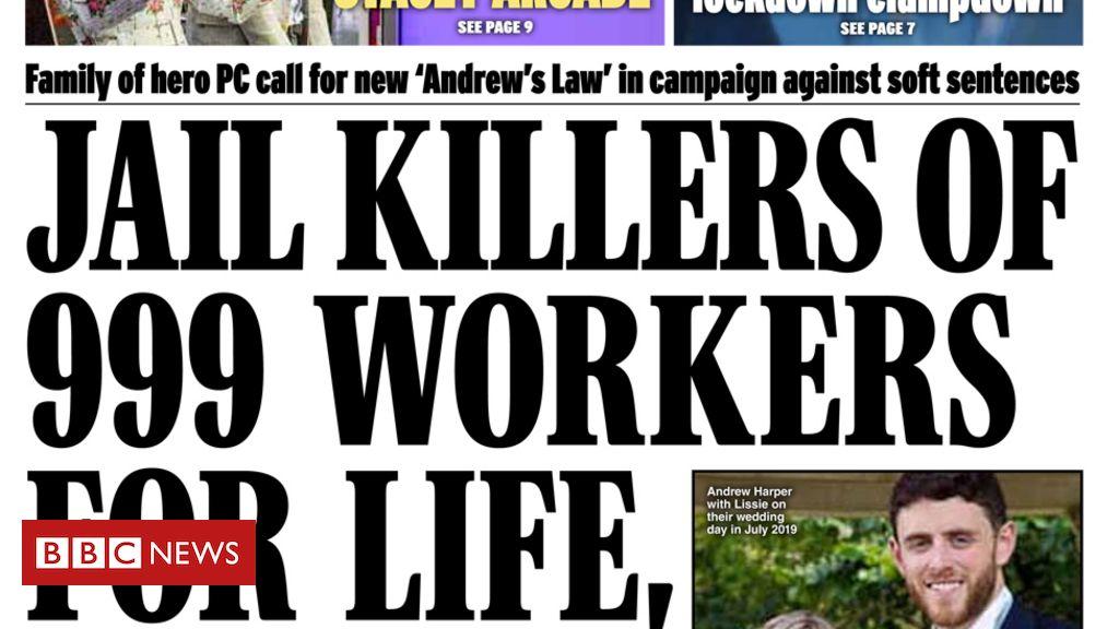 """Schlagzeilen in der Zeitung: """"Andrews Gesetz"""" und die """"verlorene Stadt"""" Beirut"""