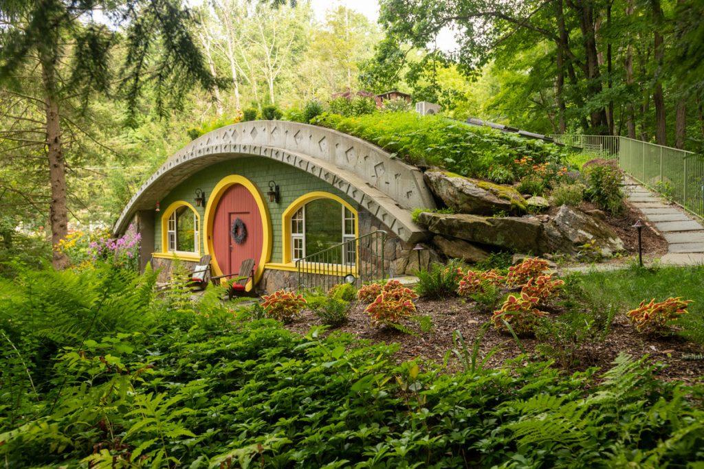 Sie können in diesem New Yorker Hobbit-Haus für 500 USD pro Nacht übernachten