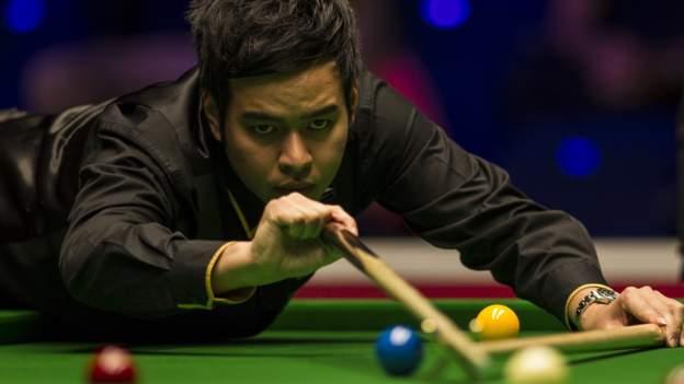 Snooker-Weltmeisterschaft 2020: Noppon Saengkham schlägt Shaun Murphy
