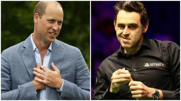 Snooker-Weltmeisterschaft 2020: Ronnie O'Sullivan macht Prinz William Vergleich