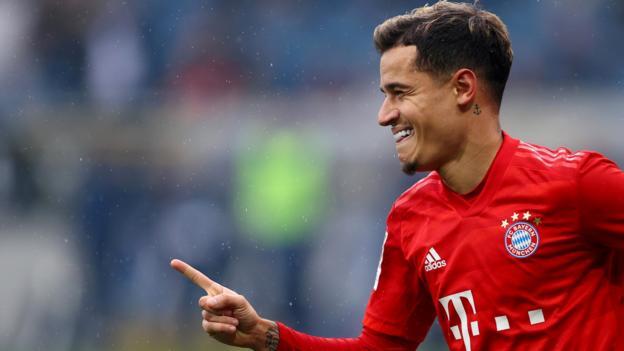 Transfergerüchte: Coutinho, Willian, Ter Stegen, Rodriguez, Aurier, Watkins, Benrahma