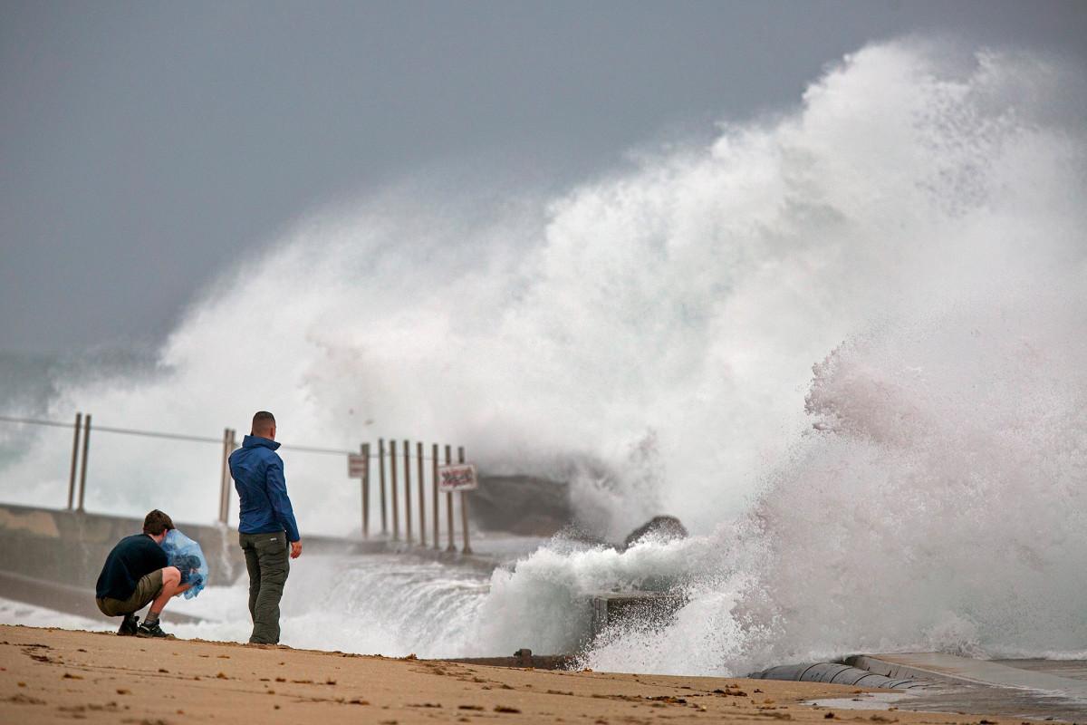 Tropensturmwarnung für das Drei-Staaten-Gebiet, wenn sich Jesaja nähert