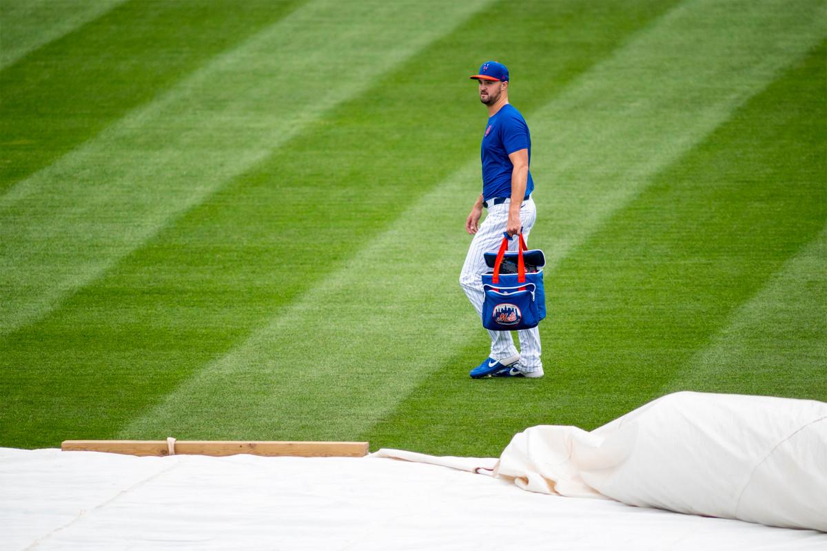 Walker Lockett wird voraussichtlich am Mittwoch für Mets starten