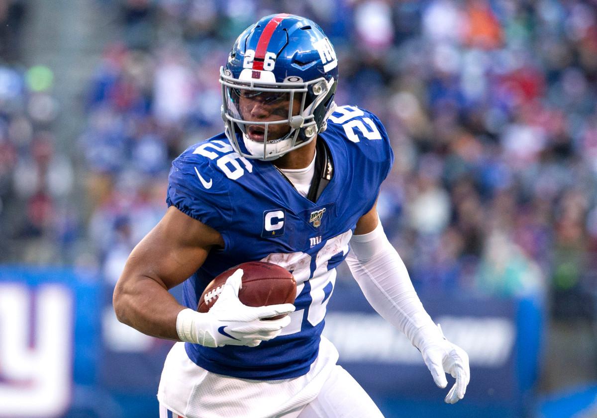 Warum Saquon Barkley von Giants beschlossen hat, die Saison nicht zu beenden