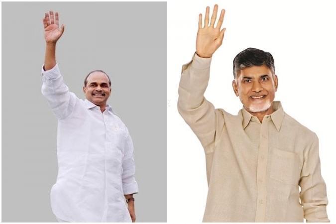 YS Rajasekhara Reddy und Nara Chandrababu Naidu