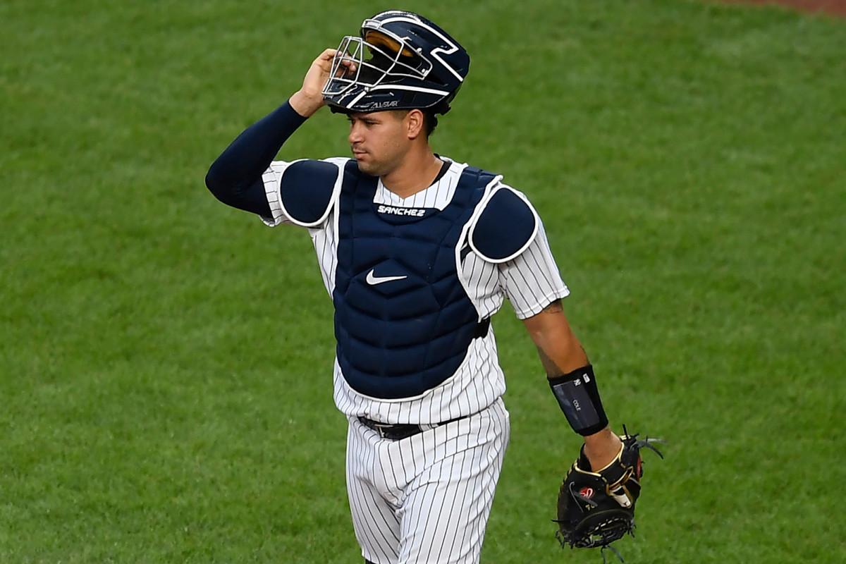 Yankees verteidigen Gary Sanchez schnell über das zum Scheitern verurteilte wilde Spielfeld