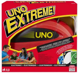 Mattel Games V9364 - UNO Extreme Kartenspiel, geeignet für 2 - 10 Spieler, Spieldauer ca. 15 Minuten,