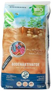 Plantura Bio Bodenaktivator mit 3 Monate Langzeit-Wirkung, 10,5 kg, staubarmes Granulat, unbedenklich für Haustiere, tierfreundlich, Langzeitdünger
