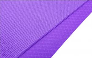 Good Times Yogamatte Gymnastikmatte Unterlegmatten rutschfest TPE hypoallergen hautfreundlich Fitnessmatte Sportmatte mit Tasche und Trageband, 183x61x0,8cm