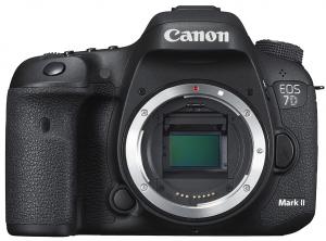 Canon EOS 7D Mark II Spiegelreflexkamera Gehäuse (20,2MP, DualPixel AF, 10B/S) schwarz